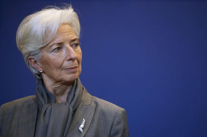 IMF Managing Director Christine Lagarde attending a news conference after a seminar on the international financial architecture in Paris, France, on March 31, 2016.