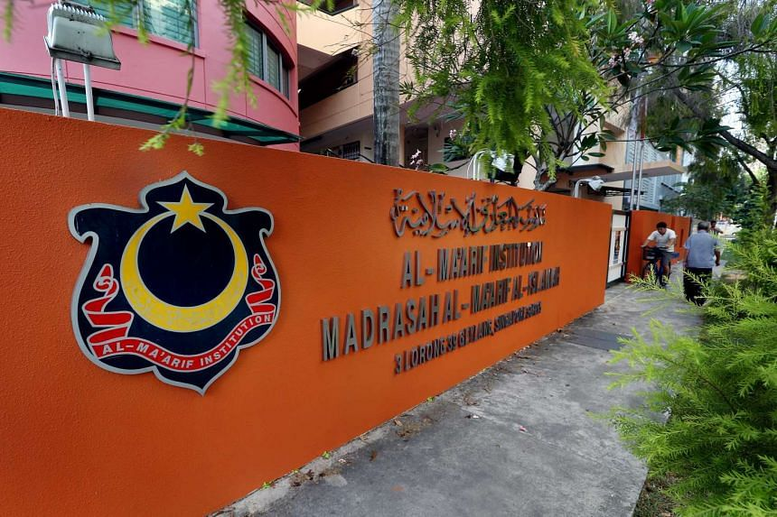 Security officer Koh Weng Onn, 48, allegedly attacked three female students as they were making their way to Madrasah Al-Ma'arif Al-Islamiah in Geylang.