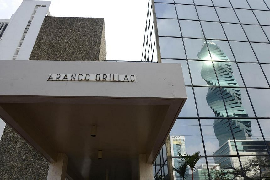 The building where Panama-based Mossack Fonseca law firm offices are located in Panama City on April 3, 2016.
