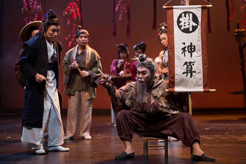 The actors in the two-hour production are a joy to watch and the costumes, set and lighting are well-designed.