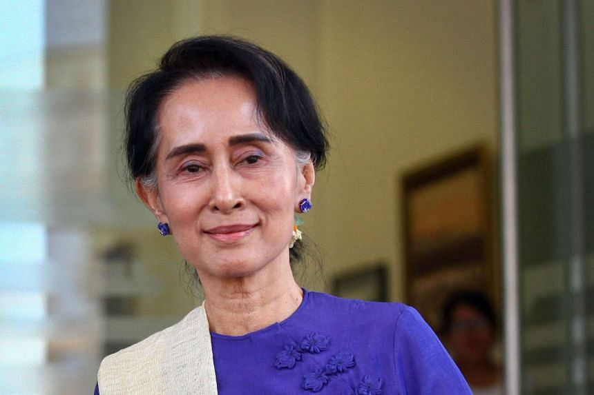 Aung San Suu Kyi will be meeting her Chinese counterpart in Naypyidaw, in the first act of international diplomacy since her party took over.
