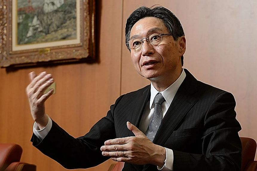 Mr Oyamada, who was appointed president and CEO of Bank of Tokyo-Mitsubishi UFJ last Friday, said the banking market in the US remains a focus because of its size and steady growth, while Asia's expanding middle class presents opportunities.