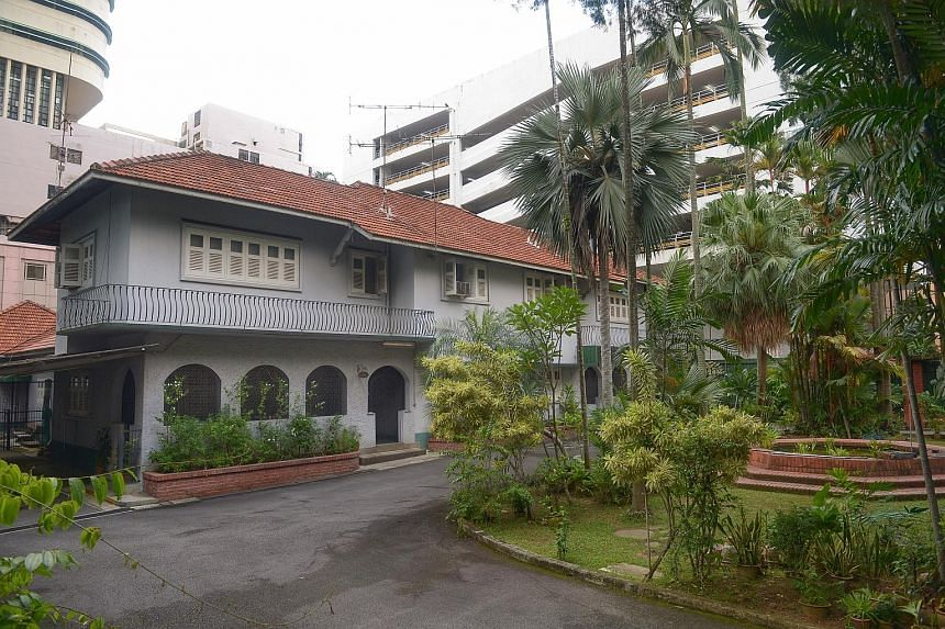 The detached house near Orchard Road sits on a 25,741 sq ft site and was owned by the late Mr Tan Hoon Siang, a great-grandson of philanthropist Tan Tock Seng.