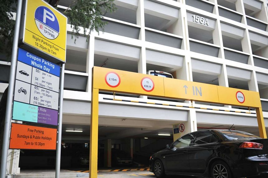 A multi-storey carpark in Toa Payoh.