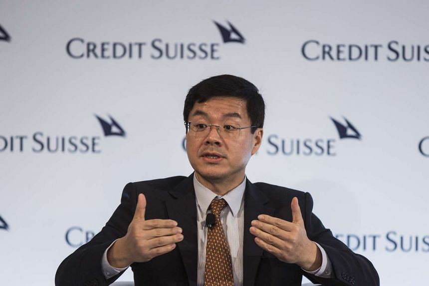 Wu Yibing, head of Temasek Holdings in China, speaks at the Credit Suisse Asian Investment Conference in Hong Kong, on April 5, 2016.