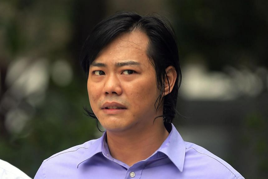 Wong Guoliang, 34, was convicted of causing grievous hurt to Fredrick Toh Cheng Chye with a parang.
