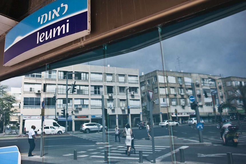 A Bank Leumi branch in Tel Aviv, one of the Israeli banks involved in the Panama Papers leak.
