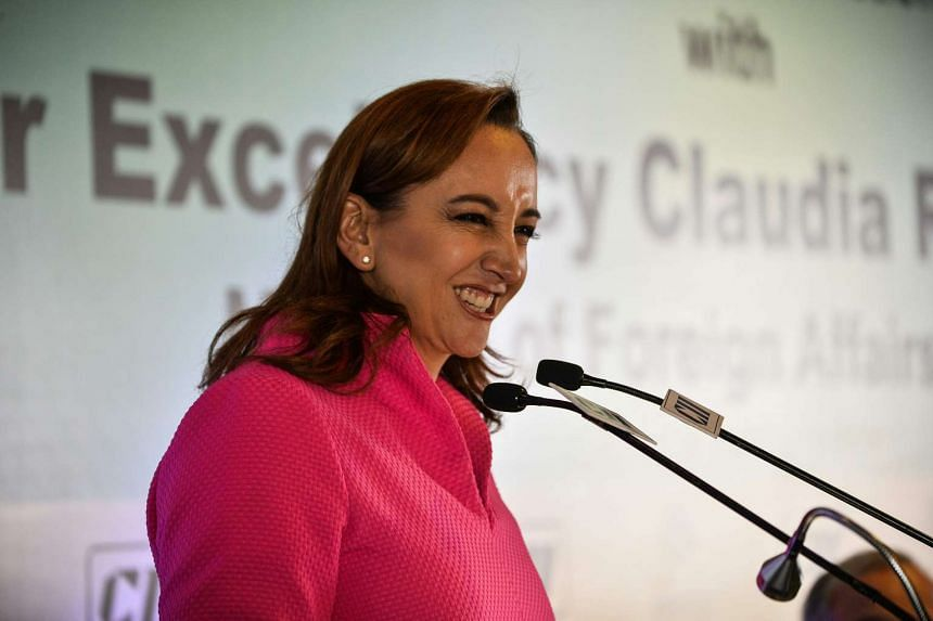 """Foreign Minister Claudia Ruiz Massieu said the move to have a new ambassador to the United States was prompted by """"the anti-Mexico atmosphere, which is largely due to lack of knowledge about our country."""""""