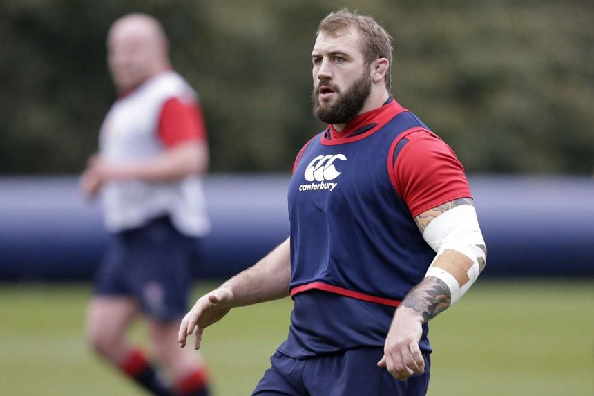 """England forward Joe Marler was banned for two games and fined £20,000 (S$38,270) for calling Wales prop Samson Lee a """"gypsy boy""""."""