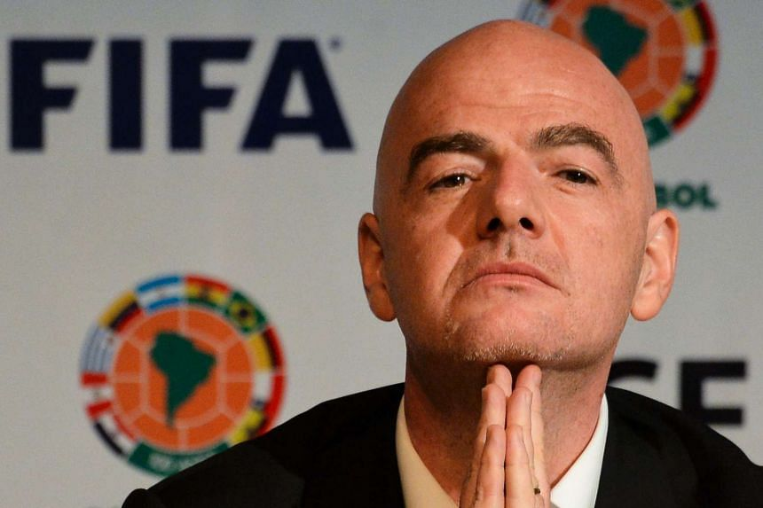 """The signature of new Fifa president Gianni Infantino has cropped up in the so-called """"Panama Papers"""" in connection with questionable TV rights sales in South America, the German newspaper Sueddeutsche Zeitung behind the mass leaks reported on April 5"""