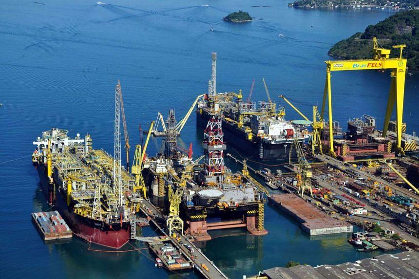 Keppel's BrasFels shipyard in Rio de Janeiro.