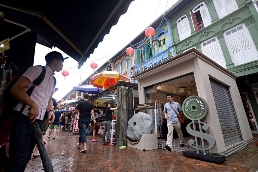 Street stalls in Chinatown Street Market.