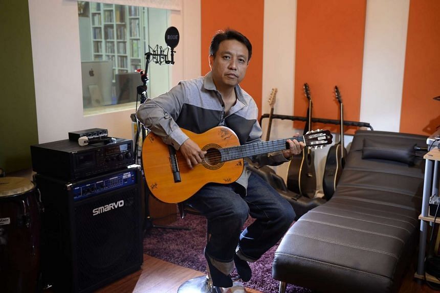 Mr Cai Yiren, founder of TCR Music Station.