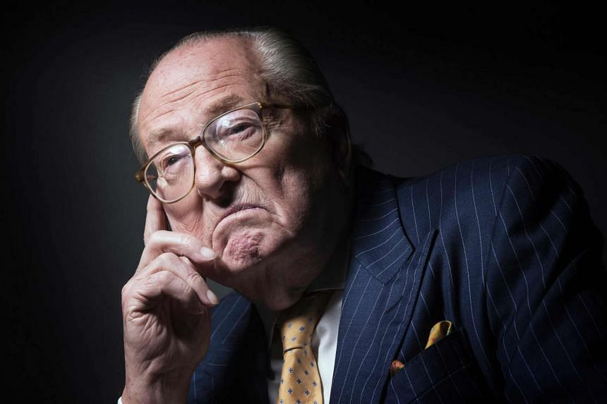 """Jean-Marie Le Pen was fined 30,000 euros (S$46,300) for saying that the Nazi gas chambers were a """"detail"""" of history."""