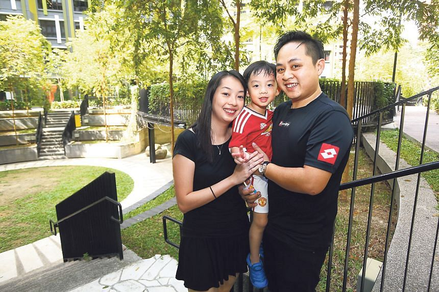 Mr and Mrs Yap, and their four-year-old son, moved into their four-room Bukit Panjang flat in April 2015.