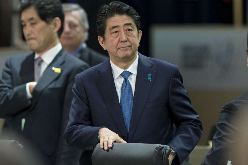 Japanese Prime Minister Shinzo Abe has said that US military bases remain essential to Japan's security.