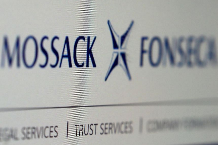 The website of the Mossack Fonseca law firm.