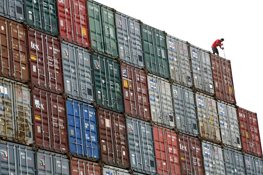 Malaysia's annual exports grew in February, rebounding from a slump the previous month.