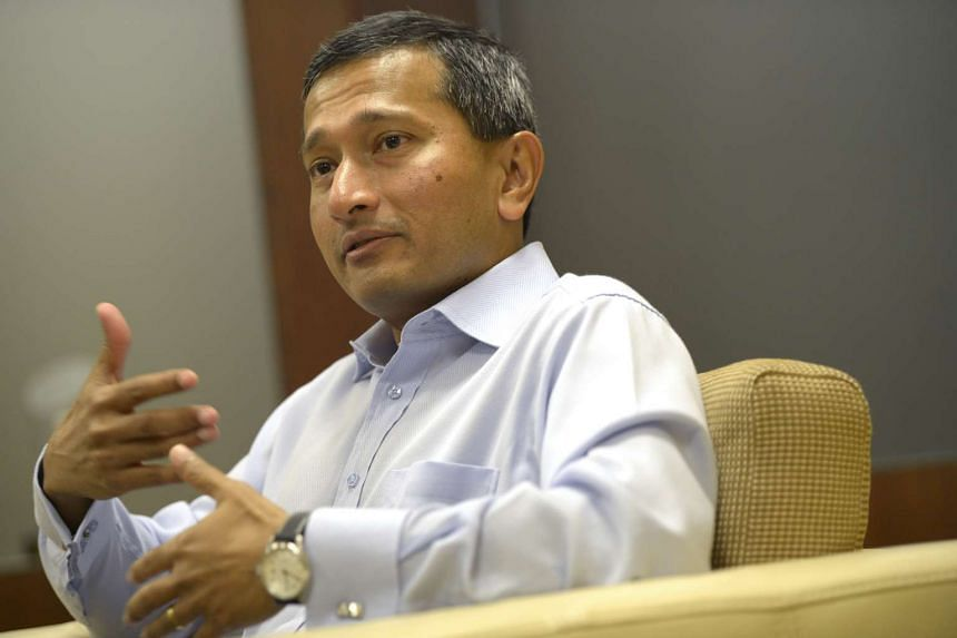 Minister for Foreign Affairs, Vivian Balakrishnan.
