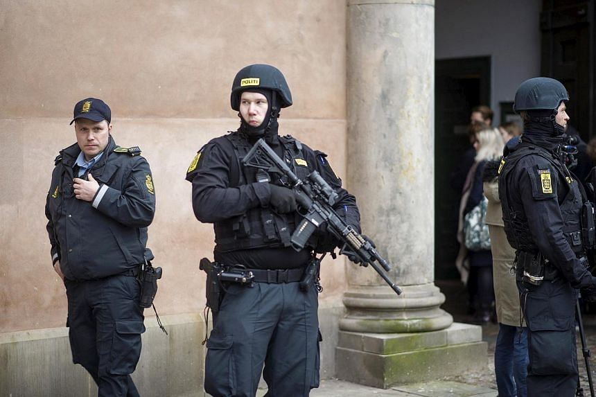 Danish police seized weapons and ammunition and arrested four men who were allegedly recruited by ISIS to commit violent acts, near Copenhagen.