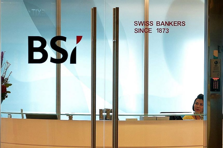 Recent departures from BSI Bank Singapore have included the head of compliance and an executive in its wealth management unit, said people familiar with the matter. The exits come on top of the pending retirement of the bank's Asia CEO, and the depar