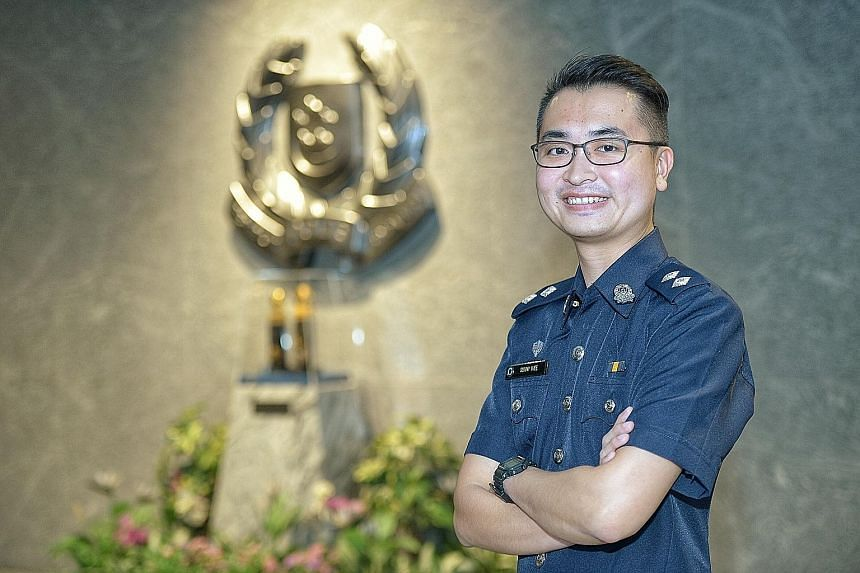 Police Inspector Sunny Wee took five years to rise through the ranks to become a senior officer as he joined the force as a diploma holder and was on a different promotion track from degree holders. That will soon change, with all officers on a unifi