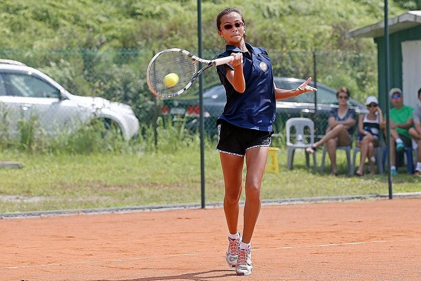 Alexis Lynn Tan will be better prepared for the Longines Future Tennis Aces event than previous local players, as she has been practising on the newly opened clay courts at the Tanglin Academy.