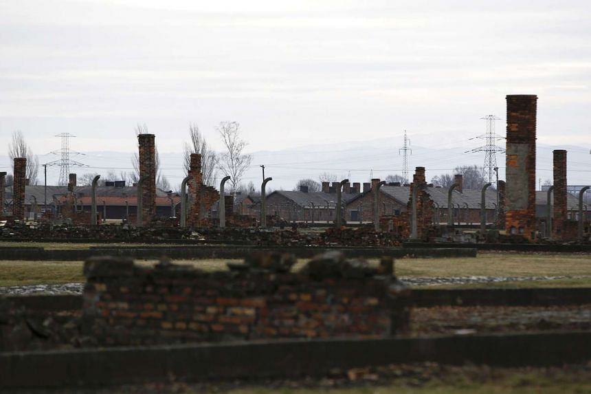 A general view of the remains of the Auschwitz II Birkenau concentration camp in Oswiecim, Poland, on Jan 27, 2016.