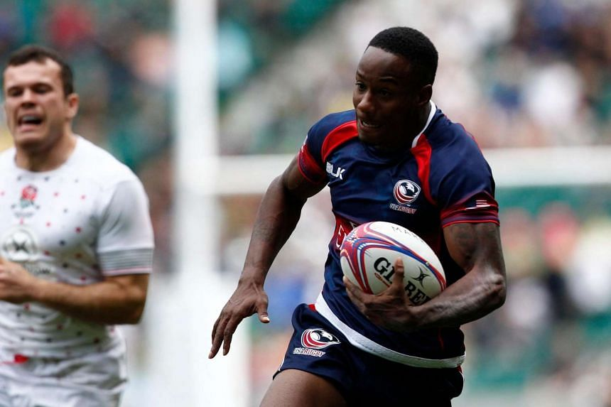 US rugby player Carlin Isles