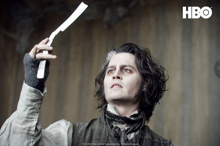 A school play in New Zealand about Sweeney Todd took a frightening turn when two pupils were wounded in the neck during the musical.