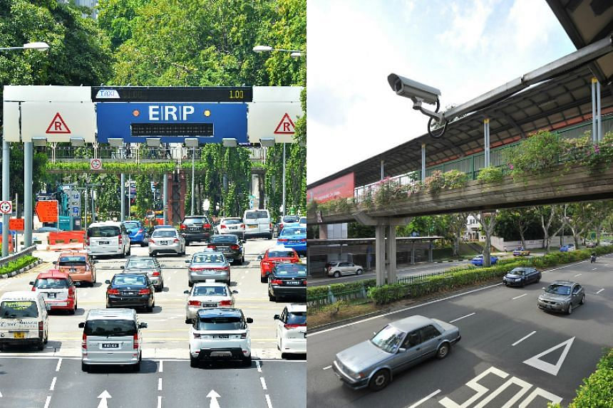 Electronic Road Pricing (ERP) data and public transport cameras will be used to fight against terrorism and serious crime.