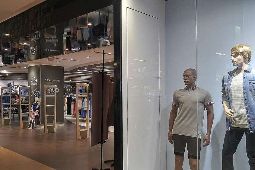 British brand New Look (left) and French menswear chain Celio will close in the second half of the year, amid competition from e-commerce, weak consumer sentiment and rising business costs in the retail scene.