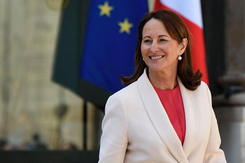 French Minister of the Environment, Energy and Marine Affairs Segolene Royal at the council of ministers at the Elysee presidential palace in Paris, on April 6, 2016.