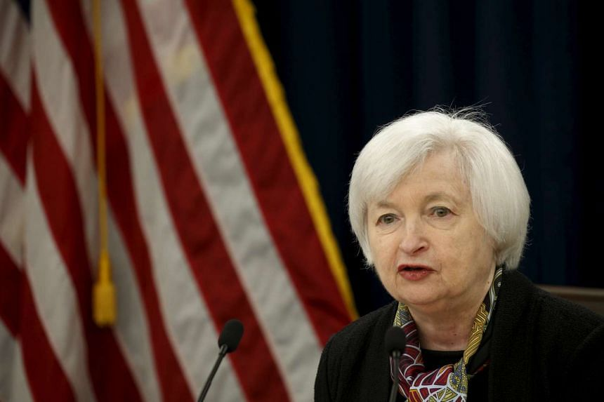 """Fed chief Janet Yellen said on March 29 the US central bank should """"proceed cautiously"""" in raising rates."""