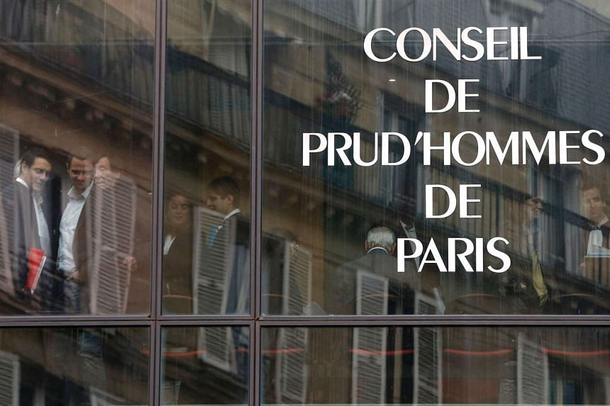 This file photo taken on July 4, 2013 shows the Prud'hommes court of Paris (judicial system of relations between workers and employees).