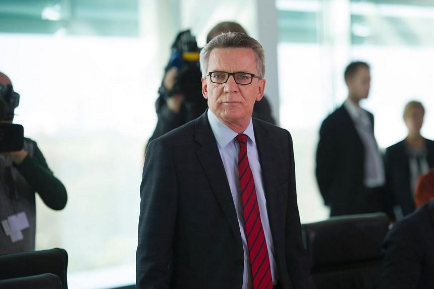 German Interior Minister Thomas de Maiziere said that new asylum applications have dropped by 66 per cent in March.