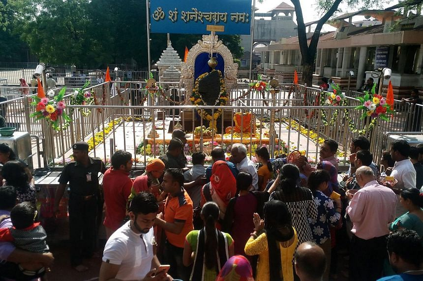 The Shani Shingnapur Temple has lifted an old ban forbidding female devotees from entering.