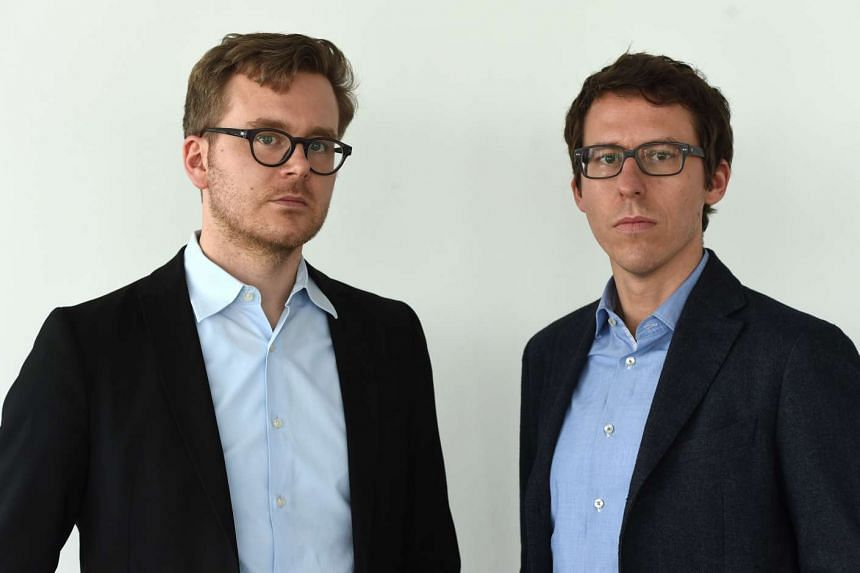 """German journalists Frederik Obermaier (left) and Bastian Obermayer (right), the co-authors of the """"Panama Papers"""" investigation."""