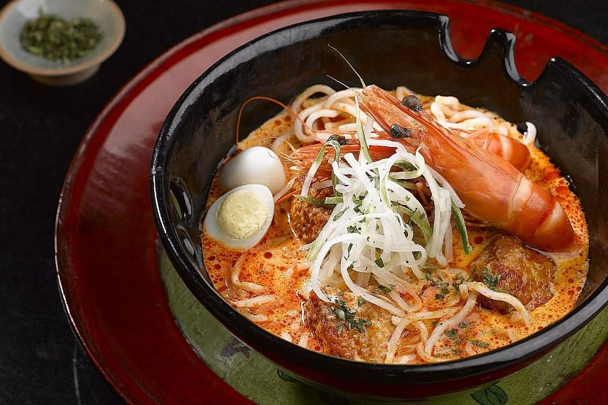 Tuck into Asian favourites such as the Sheraton Laksa at The Dining Room.