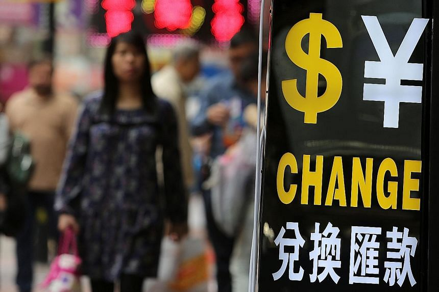 Money exchange businesses in Hong Kong can facilitate the transfer of money from wealthy Chinese overseas.