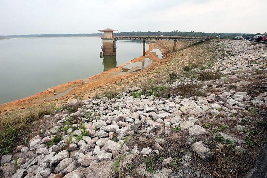 The Sungai Lebam dam in Johor has reached a critical level due to the dry spell, which is expected to last till June.