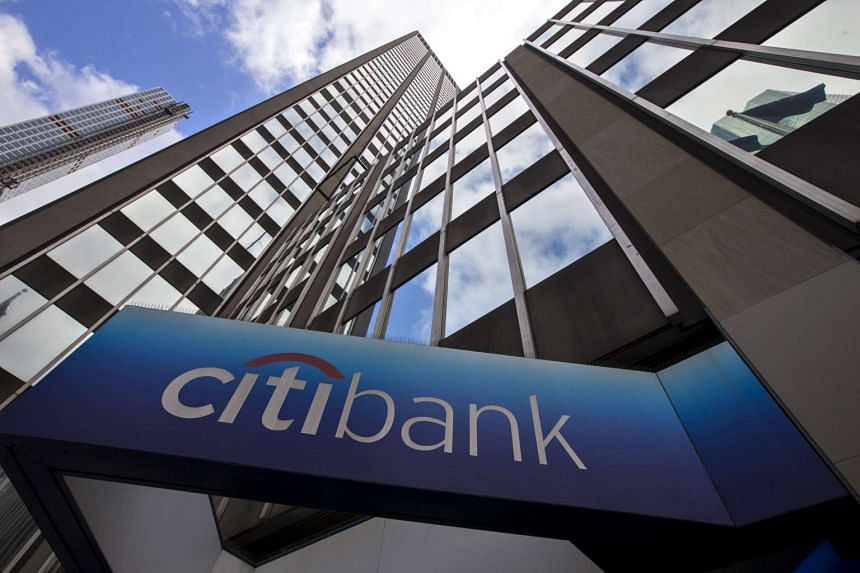 Citigroup fell 3.8 per.cent.