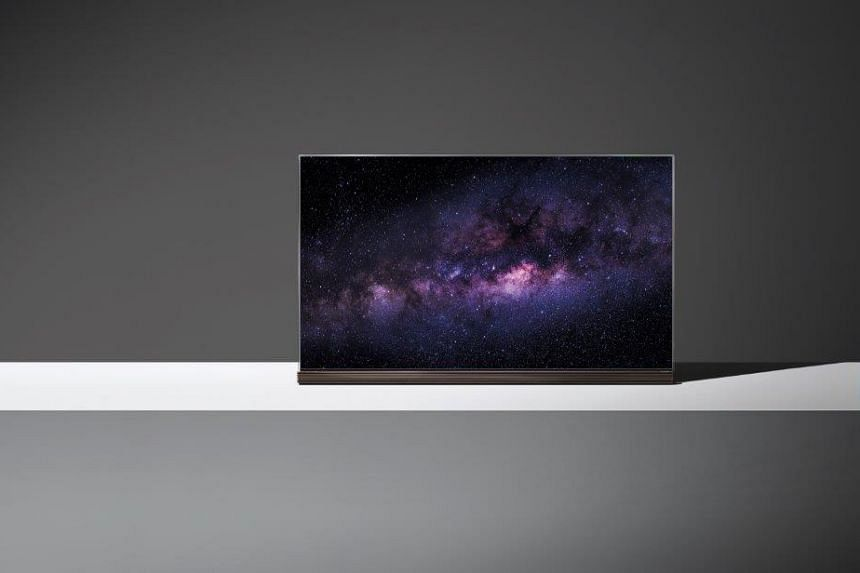 The LG Signature OLED TV G6.