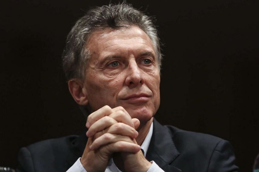 Macri (above, in a file photo) denies wrongdoing and says he has nothing to hide.