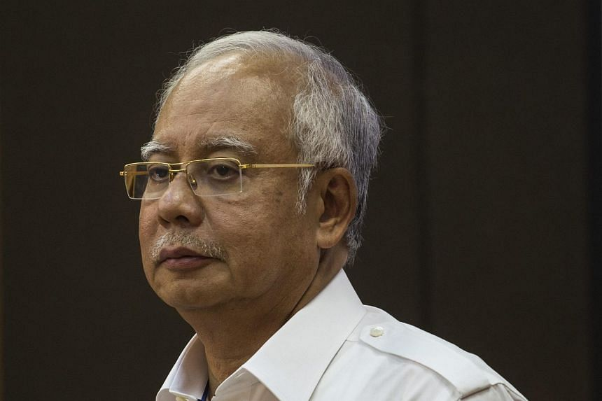 Malaysia's Prime Minister Najib Razak, who is also the chairman of the 1MDB advisory board.