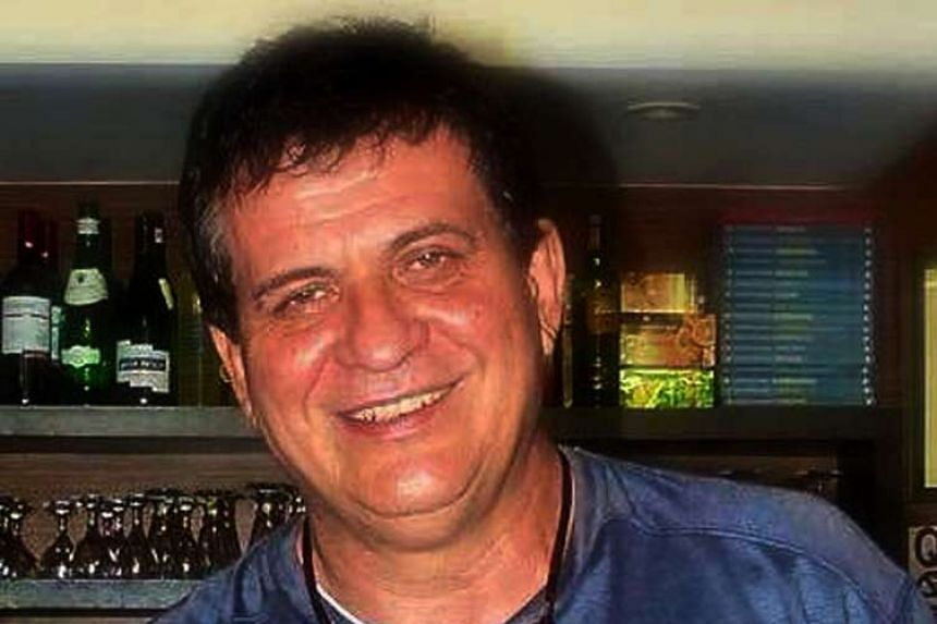 A file photo of Italian restaurant owner and former priest Rolando del Torchio.