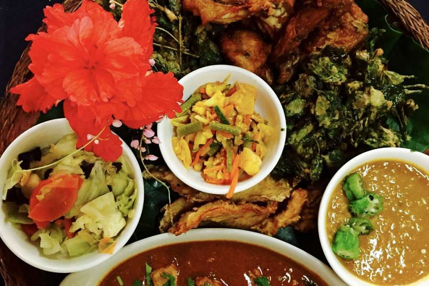 Or head for Bollywood Veggies Bistro and order The Warrior's Platter.