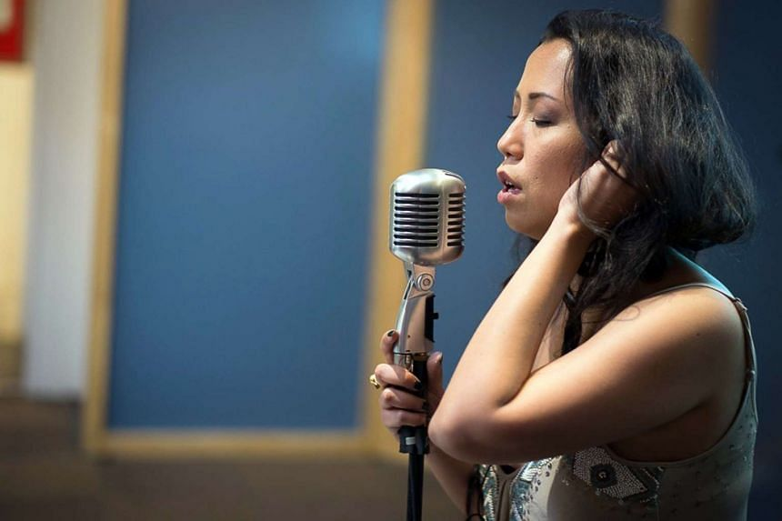 Vanessa Fernandez, whose singing stage name is Vandetta, spends her weekends making music.