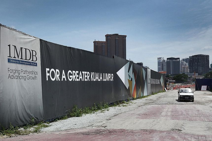 The site of the Tun Razak Exchange financial district, which is owned by 1MDB, in Kuala Lumpur. The troubled state investor also has a 40 per cent stake in Bandar Malaysia, another property project in the capital.