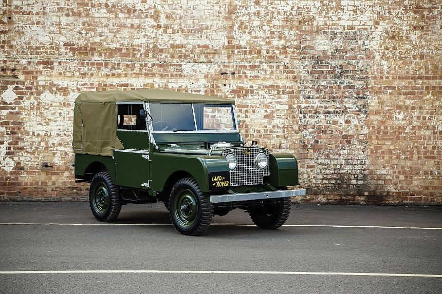 Land Rover 25 Series I.